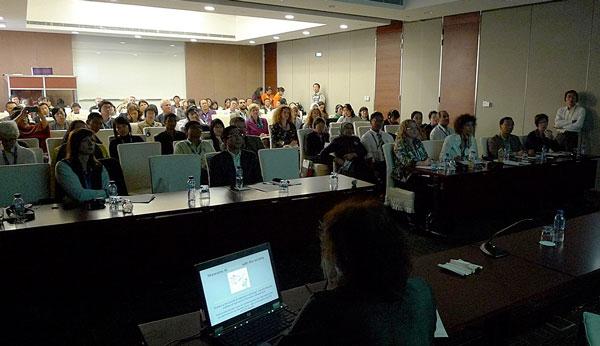 Tilhørere ved Iwona Szmelters forelæsning